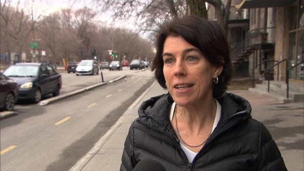 a person that is standing in the street: Suzanne Lareau of Vélo Québec says it's a matter of life and death for cyclists when motorists get too close on the road.