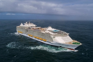 Symphony of the Seas: World's largest cruise ship sets sail