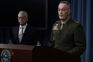 Top general: US did not notify Russia on Syria targets