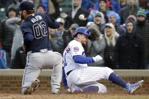 Cubs score 9 on 3 hits in 8th, rally to stun Braves 14-10