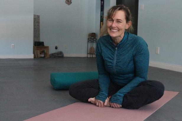 Tammy Ward, owner of Truth Lies Within yoga studio, is an RCMP officer on weekdays and a yoga instructor on the weekends. She teaches a yoga class specifically tailored for women who have experienced trauma in their lives.