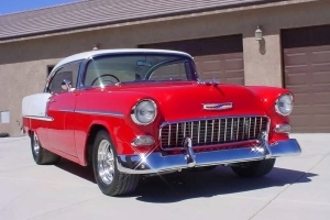 A 1955 Chevy Bel Air Hardtop Homebuilt by the Original Owner's Son