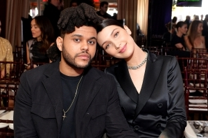 Back On? The Weeknd and Ex-Girlfriend Bella Hadid Pack on PDA at Coachella Party