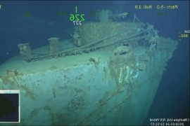 Missing U.S. WW2 Warship Found in Pacific Ocean