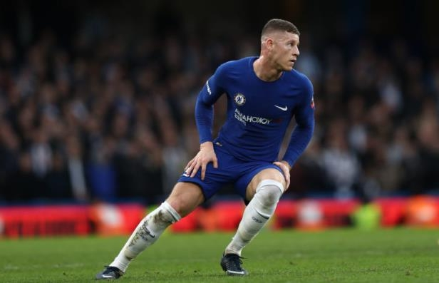 Ross Barkley with a football ball on a field: Catherine Ivill/Getty Images Sport