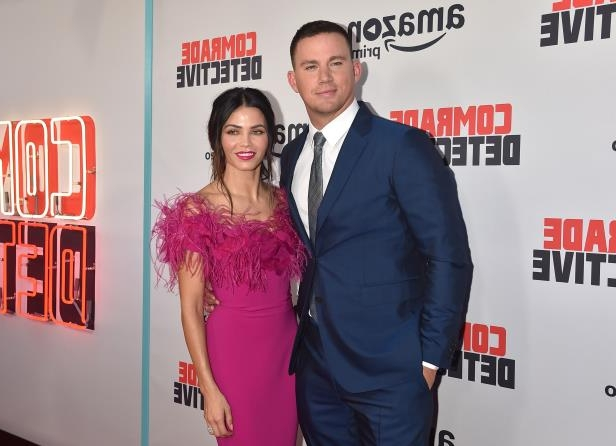 Slide 6 of 25: HOLLYWOOD, CA - AUGUST 03:  Actors Channing Tatum and Jenna Dewan Tatum attend the premiere of Amazon's 'Comrade Detective' at ArcLight Hollywood on August 3, 2017 in Hollywood, California.  (Photo by Alberto E. Rodriguez/Getty Images)