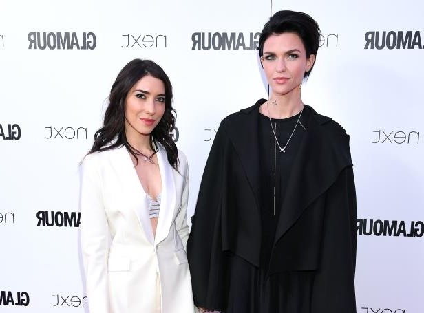 Slide 7 of 25: LONDON, ENGLAND - JUNE 06: Ruby Rose and Jessica Origliasso attend the Glamour Women of The Year Awards 2017 at Berkeley Square Gardens on June 6, 2017 in London, England. (Photo by Karwai Tang/WireImage)