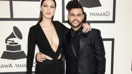 Bella Hadid took to social media to dismiss claims she was spotted kissing ex-boyfriend The Weeknd at Coachella.