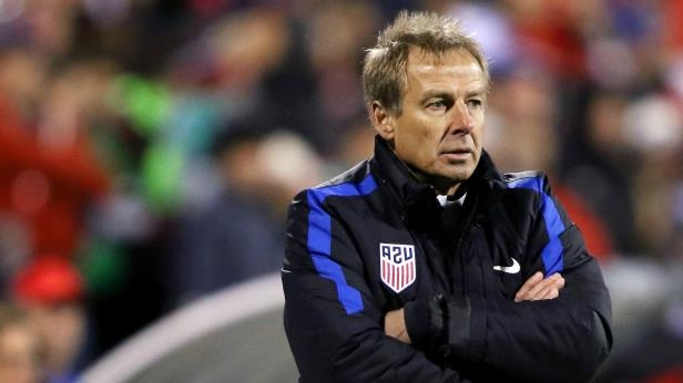 Jurgen Klinsmann wearing a uniform