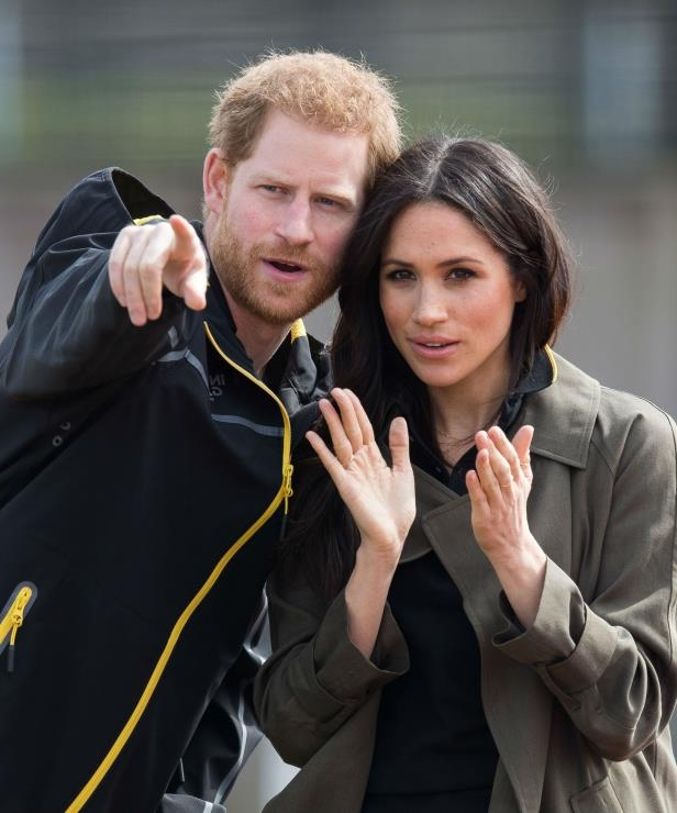 Meghan Markle, Prince Harry posing for the camera: Pointing out there bright future together! Harry and Meghan, who will soon exchange vows, will work together to give young people a voice through their new roles.