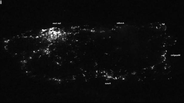 Puerto Rico's power outage is now the second-largest blackout in history