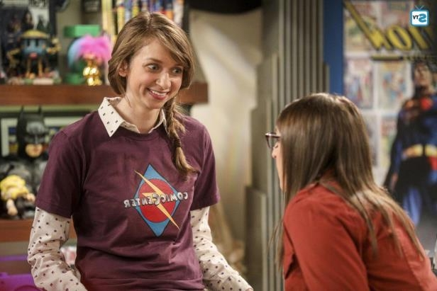 Slide 10 of 10: Big Bang newbie Lauren Lapkus, who makes her debut as Denise in the April 19 episode, will be back for the wedding.
