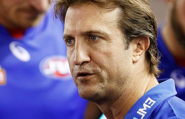Western Bulldogs coach Luke Beveridge.