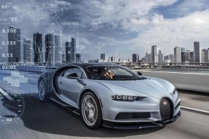 Bugatti telemetry detects car issues in real time