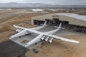It would be the world's largest airplane. It's being built by a billionaire. And it's getting ready to fly.