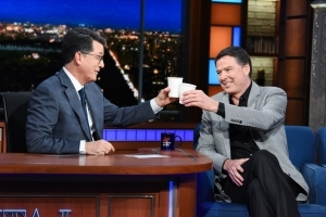 James Comey Likens Trump Presidency to 'Forest Fire' on 'Late Show With Stephen Colbert'