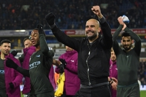 Guardiola thanks City players and staff for 'amazing' season