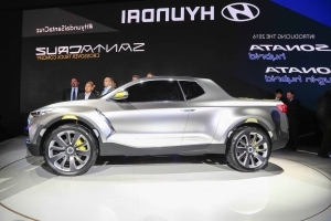 Hyundai Santa Cruz Pickup Still Two Years From Showrooms