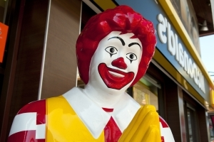 Ronald McDonald Has A Different Name In Japan