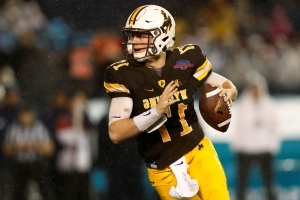 Josh Allen had seven visits, one private workout