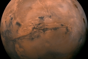 Mars' Moons May Have Formed From a Slow Collision