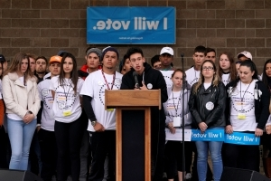 Parkland survivors rally in Colo. on eve of Columbine massacre