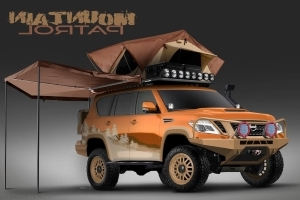 This Rugged Armada Concept is Nissan's Idea of an Overland Adventure SUV