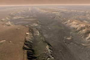 Cracks on Mars Reveal a System of Ancient Lakes