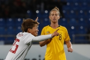 Late strike denies Matildas Asian crown