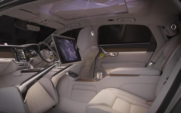 Slide 2 of 9: Volvo S90 Ambience Concept interior