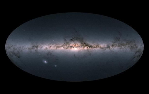 A New Map For The Milky Way, Most Detailed Yet