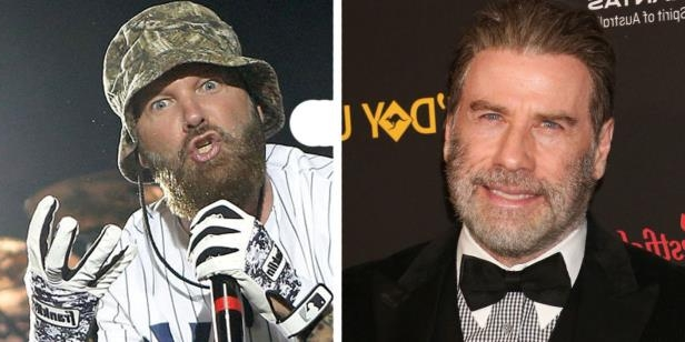 Entertainment: John Travolta is unrecognisable in new Fred Durst