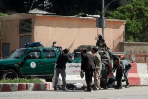 Five journalists among dozens killed in twin Afghanistan blasts