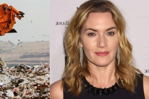 Kate Winslet's home town has named a bin lorry after her