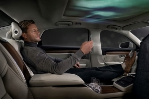 Kick Back and Enjoy the Northern Lights in the Volvo S90 Ambience Concept