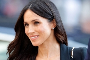 Meghan Markle Is Testing Her Wedding Hairstyle IRL