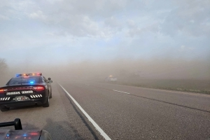 Nebraska dust storm triggers chain-reaction crash, 1 dead