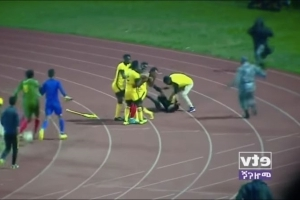 Ethiopian Soccer Coach Fired For Socking A Ref In The Face