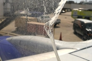 Southwest Airlines flight diverts to Cleveland due to broken window