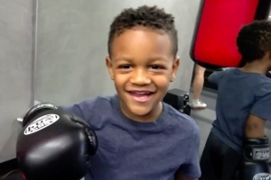 Watch 3-Year-Old 'Rocky' Fan Crush Heavy Bag Like It's Ivan Drago