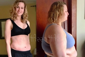 From Size 26 to 6, Tess Lost 200 Pounds and Still Ate 6 Times a Day
