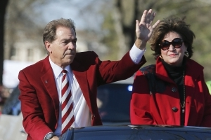 Nick Saban tells a funny story about his dog, Ray Ray