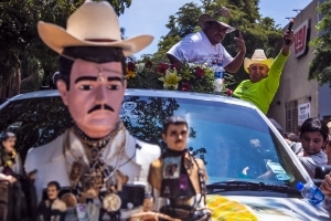 Mexicans celebrate patron saint of drug traffickers