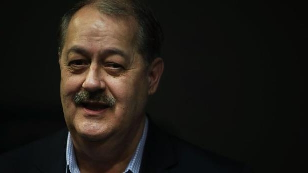 Don Blankenship smiling for the camera