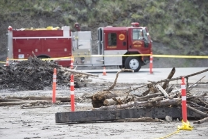 Last summer's wildfires could be causing floodwaters to rise