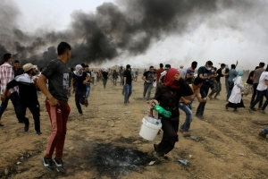 Three Palestinians killed by Israeli forces at Gaza border