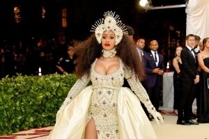 Cardi B's Entourage Allegedly Physically Attacked Autograph Seeker Following Met Gala, Police Say