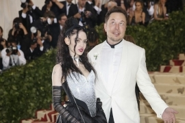 Entertainment: Elon Musk Arrives At Met Gala With Grimes Amid Dating
