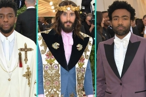 From Chadwick Boseman to Donald Glover -- All the Men Who Styled Up The Met Gala!
