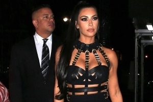 Kim Kardashian Explains Kanye West's 2018 Met Gala Absence, Wears Bondage Look to After Party